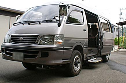 ハイエース(100系)4WD